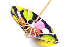 Guarda-chuva do cocktail Fotografia de Stock Royalty Free