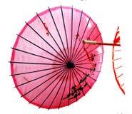 Guarda-chuva do papel chinês fotografia de stock