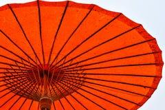 Guarda-chuva do papel feito a mão Imagem de Stock