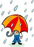 Guarda-chuva grande Fotografia de Stock Royalty Free