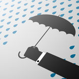 guarda-chuva Ilustração conservada em estoque Foto de Stock