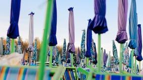Guarda-chuva na praia Imagem de Stock