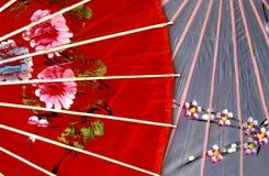 Guarda-chuva oriental Fotos de Stock Royalty Free