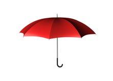 Guarda-chuva vermelho Imagens de Stock Royalty Free