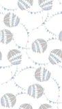 Guarda-chuvas azuis Fotografia de Stock