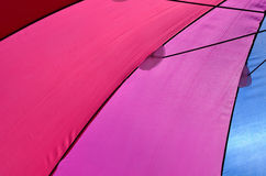 Guarda-chuvas coloridos Imagens de Stock