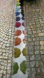Guarda-chuvas coloridos Fotos de Stock