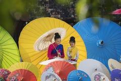 Guarda-chuvas coloridos Imagem de Stock Royalty Free