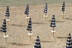 Guarda-chuvas de praia Foto de Stock