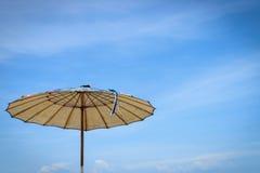 Guarda-chuvas de praia Fotos de Stock Royalty Free