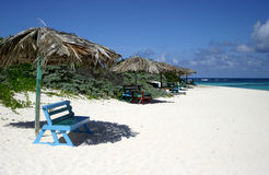 Guarda-chuvas de praia Imagem de Stock