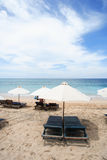 Guarda-chuvas de praia foto de stock royalty free