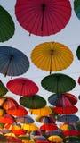 Guarda-chuvas decorativos Fotos de Stock