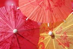 Guarda-chuvas do cocktail Imagem de Stock Royalty Free