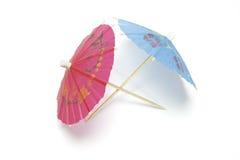 Guarda-chuvas do cocktail Imagem de Stock