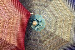 Guarda-chuvas feitos a mão fotos de stock