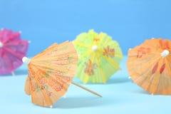 Guarda-chuvas japoneses Fotografia de Stock Royalty Free