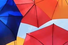 Guarda-chuvas muitos Fotografia de Stock Royalty Free