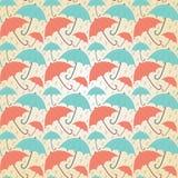 Guarda-chuvas pasteis Fotografia de Stock Royalty Free