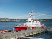 Guarda costeira canadense Rescue Ship Fotos de Stock Royalty Free