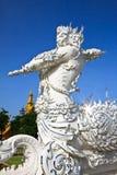 Guarda de la estatua de religioso Foto de archivo libre de regalías