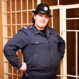 Guarda de la prisión Imágenes de archivo libres de regalías