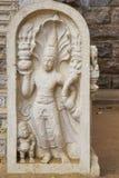Guarda de piedra en el templo de Bodhi, Sri Lanka Fotografía de archivo libre de regalías