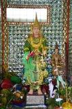 Guarda de Rohani BO BO Gyi en la pagoda de Botahtaung en Rangún Myanmar Fotos de archivo libres de regalías