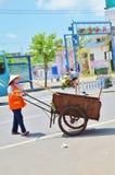 Guarda de serviço chinês da mulher Imagens de Stock