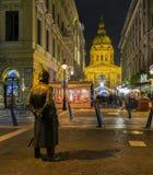 Guarda del mercado de la Navidad Fotografía de archivo