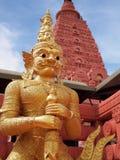 Guarda del templo Fotografía de archivo
