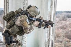 Guarda florestal do exército de Estados Unidos imagens de stock royalty free