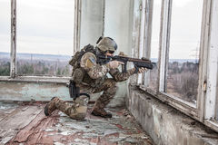 Guarda florestal do exército de Estados Unidos fotografia de stock