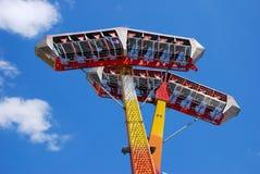 Guarda florestal e Luna Park Imagem de Stock