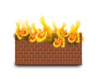 Guarda-fogo Foto de Stock