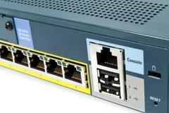 Guarda-fogo do Ethernet fotografia de stock