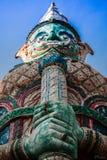 Guarda gigante tailandés Foto de archivo libre de regalías