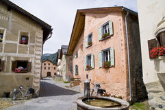 Guarda; Historic Village Royalty Free Stock Photo