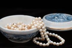 Guarda-joias da porcelana foto de stock