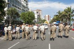 Guarda Municipal Guards Rio de Janeiro Brazil Stock Images