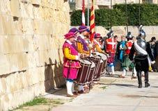 In Guarda Parade royalty-vrije stock foto's