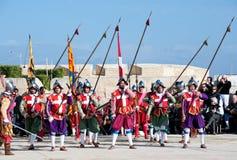 In Guarda Parade Stock Photo