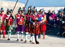 In Guarda Parade Royalty Free Stock Photos