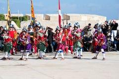 In Guarda Parade Royalty Free Stock Image