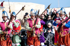 In Guarda Parade Royalty Free Stock Photography