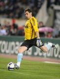 Guarda-redes de Iker Casillas Real Madrid imagens de stock royalty free