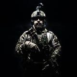 Guardabosques del ejército en uniformes del campo Imágenes de archivo libres de regalías