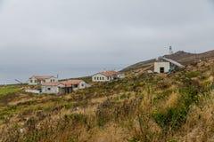 Guardacostas de la isla de Anacapa Station Fotos de archivo