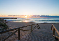 Guardamar beach Stock Photo