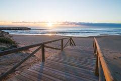Guardamar beach Stock Image